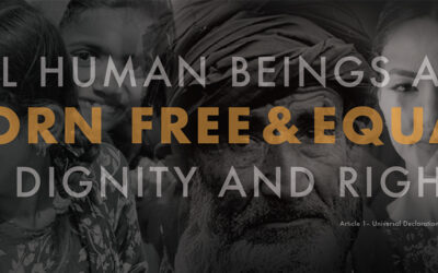 """""""All human beings are born free and equal in dignity and rights!"""""""